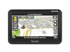 Автомобильный GPS-навигатор JJ-Connect AutoNavigator 5000 Wide